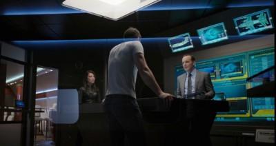AgentsofSHIELD S1x02 Ward May and Coulson