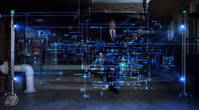 Agents of SHIELD - S2x07 - The Writing on the Wall - Coulson and His Writing