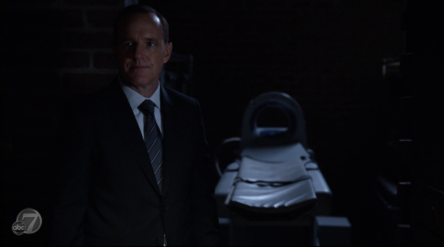 Agents of SHIELD - S2x07 - The Writing on the Wall - Coulson and the Machine