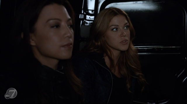 Agents of SHIELD - S2x07 - The Writing on the Wall - May and Bobbi
