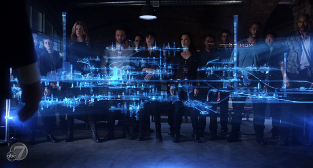 Agents of SHIELD - S2x07 - The Writing on the Wall - Team City 2
