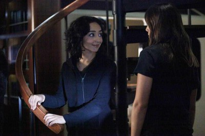 Agents of SHIELD S2x09 Raina and Skye have a chat