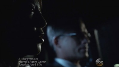 Agents of SHIELD S2x09 Agent 33 and Whitehall discuss Ward