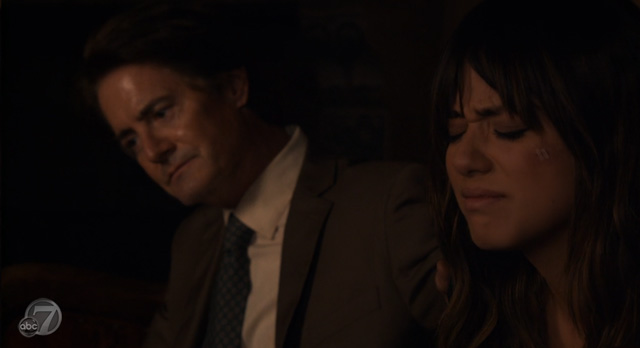 Agents of S.H.I.E.L.D Midwinter Finale - What They Become - Skye Repulsed by Cal