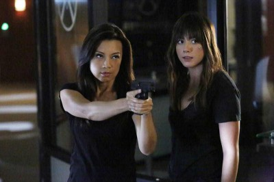 Agents of SHIELD S2x10 - Melinda May and Skye confront the enemy