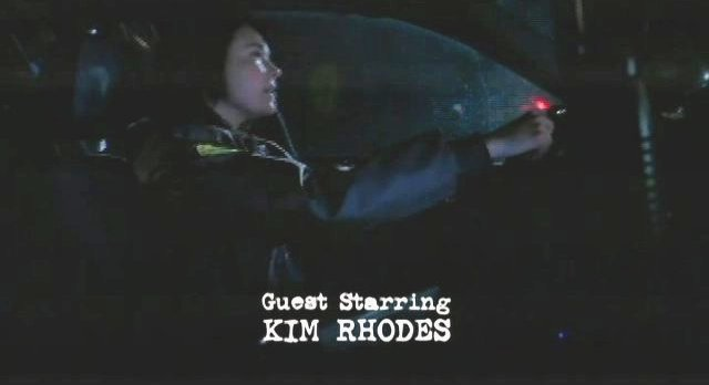 Supernatural S7x12 - Kim Rhodes as the sheriff!