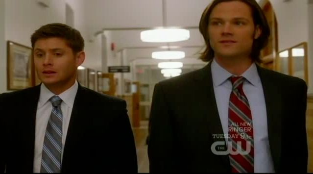 Supernatural S7x13 - Dean and Sam really missing Bobby