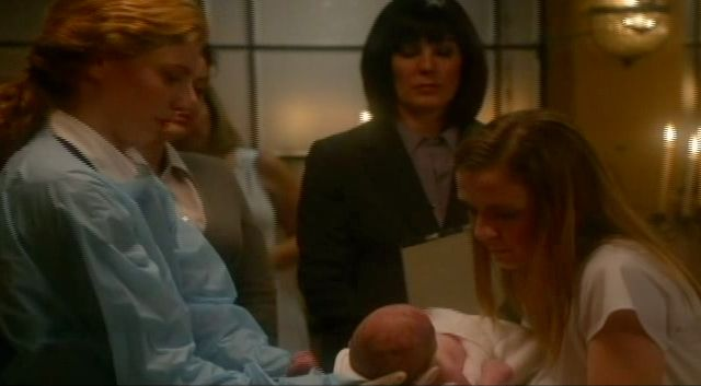 Supernatural S7x13 - Lydia gives birth and Madeline names the baby Emma