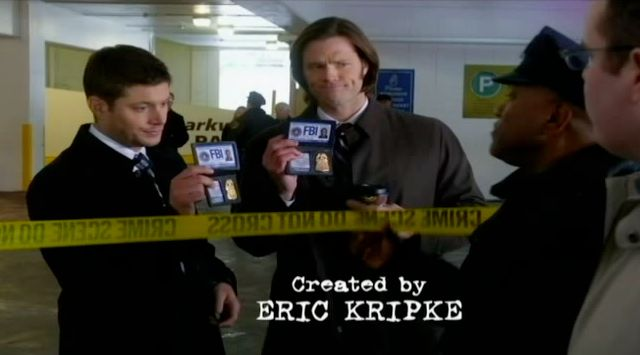Supernatural S7x15 - The brothers are investigating a murder