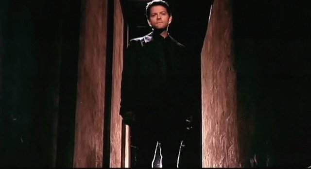 Supernatural S7x17 - Misha Collins is back