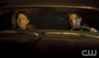 Supernatural S7x17 - Castiel and Dean rush to save Sam!