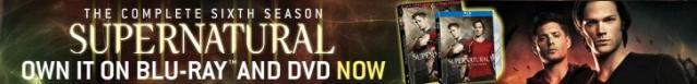 Supernatural Buy Season six DVD and BluRay at the WB!