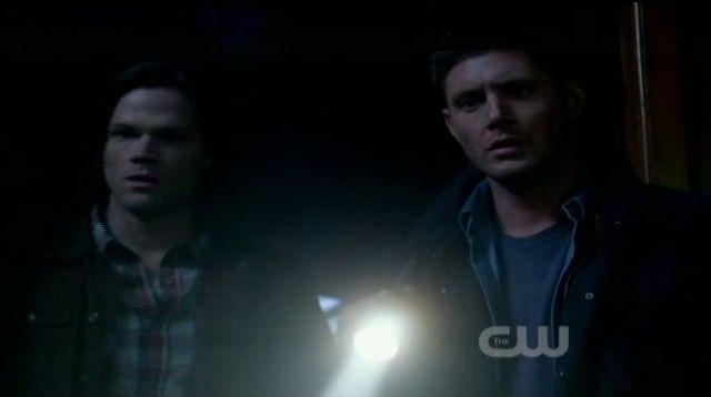 Supernatural S7x19 - Dean and Sam see Bobby