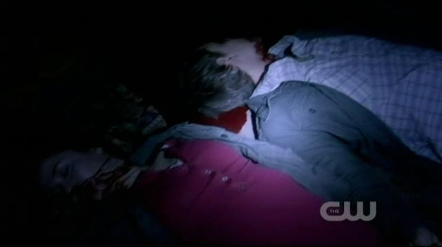 Supernatural S7x19 - Debbie and Dudley killed