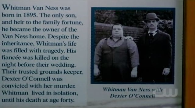 Supernatural S7x19 - Photo of Whitman Van Ness and Dexter OConnell
