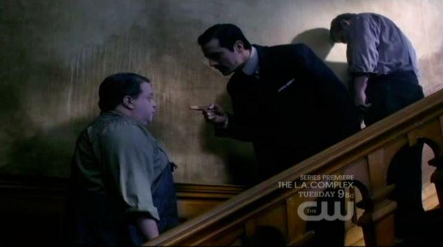 Supernatural S7x19 - Whitman Van Ness scolding Dexter OConnell