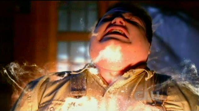 Supernatural S7x19 - Whitman ghost killing Dexter