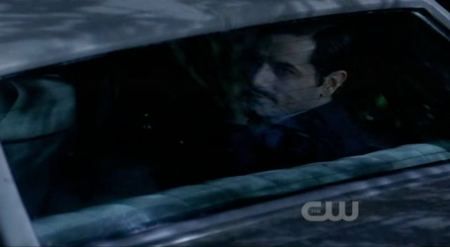 Supernatural S7x19 - Whitman in car with Sam and Dean