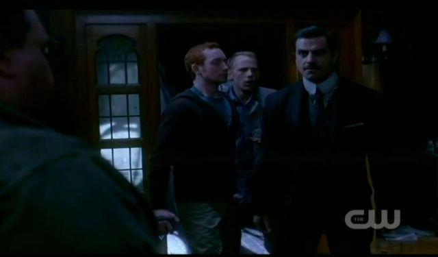 Supernatural S7x19 - Whitman scolds Dexter again