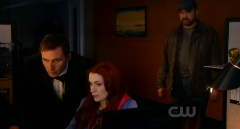 Supernatural S7x20 - Dick, Charlie, and Bobby