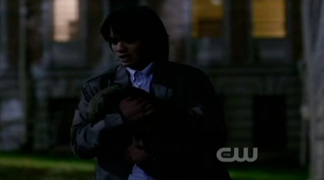 Supernatural S7x21 - Kevin steals the stone