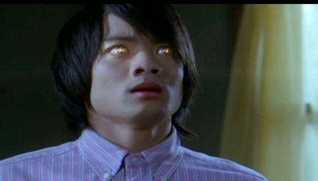 Supernatural S7x21 - Kevins eyes light up gold