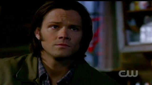 Supernatural S7x21 - Sam worried about Castiel