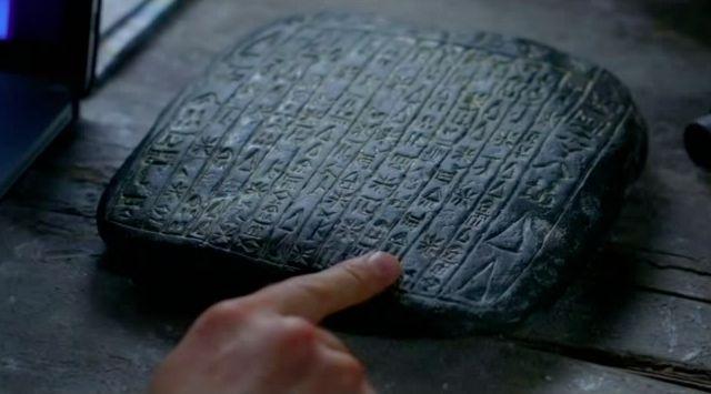 Supernatural S7x21 - Stone with symbols