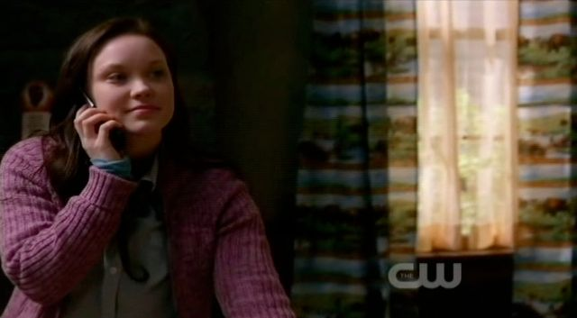 Supernatural S7x22 - Emily calls her Daddy