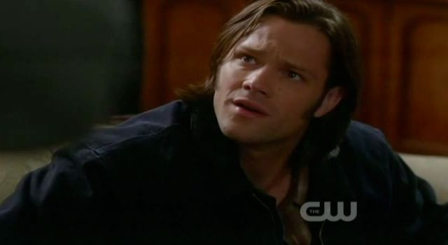 Supernatural S7x22 - Sam wonders if it is because of the corn syrup
