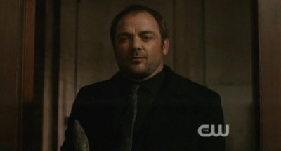 Supernatural S8x02 - Crowley mythology is defeated for time being