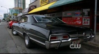 Supernatural S8x02 - The Impala is SAFE for now