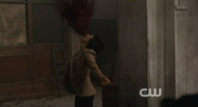 Supernatural S8x02 - Tiger Mommy has been possessed by Crowley