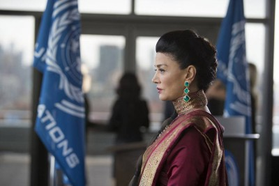 The Expanse S1x02 The United Nations is led to believe Mars Congress destroyed the Canterbury
