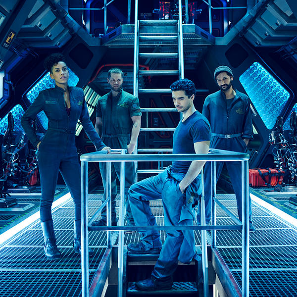 The Expanse poster courtesy of Syfy