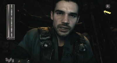 The Expanse S1x02 Holden broadcasts the Martian Tech found on the Scopuli