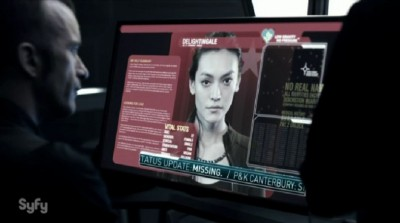 The Expanse S1x02 Julie Mao screen name Delightengale