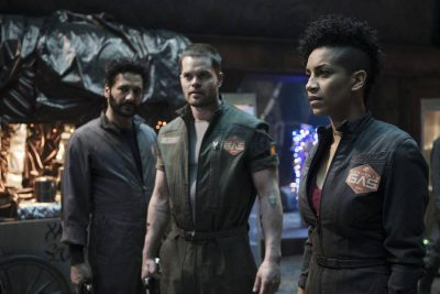 The Expanse S1x10 Our heroes deal with the inspector
