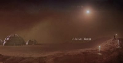 The Expanse S1x09 Title sequence Florence Faivre