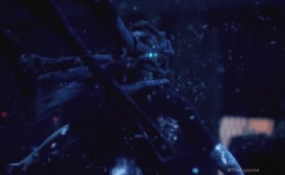 The Expanse S1x10 Kenzo is grabbed by Proto-Molecule Entity