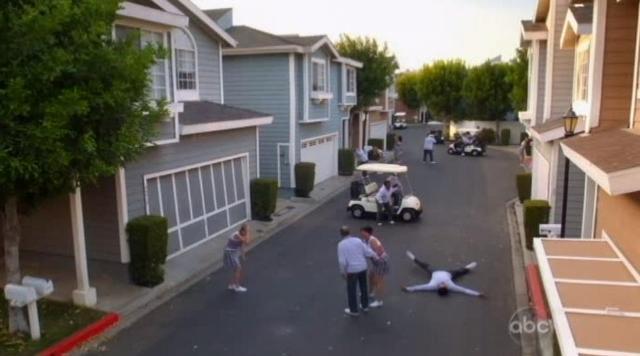 The Neighbors S1x03 Community pain