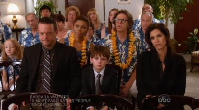 The Neighbors S1x10 At the funeral 2