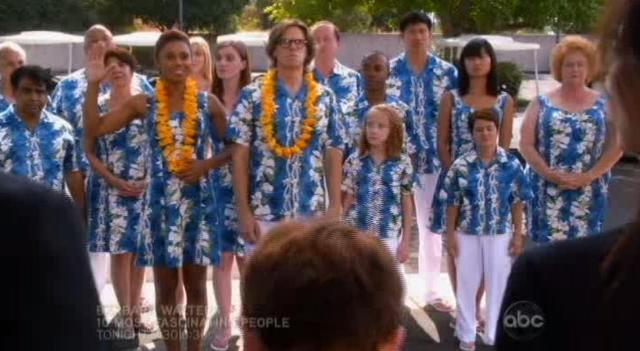 The Neighbors S1x10 At the funeral