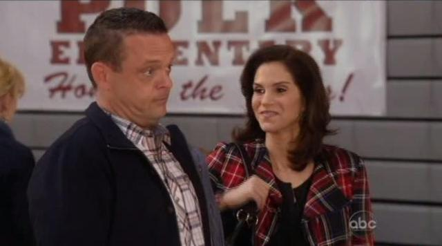 The Neighbors S1x11 Debbie and Marty arrive at school
