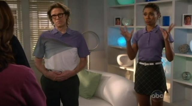 The Neighbors S1x21 Jackie demonstrates burned alive