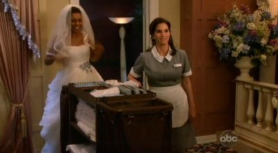 The Neighbors S1x22 - Debbie as maid