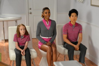 The Neighbors S2x06 -  Larry's family sees Larry's new sportswear