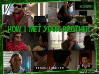 The Neighbors S2x22 How I met your brother