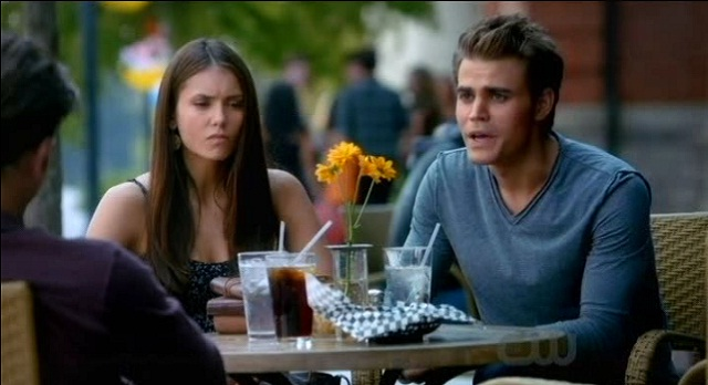 The Vampire Diaries 3x07 Alaric and Elena are wary of Stefan