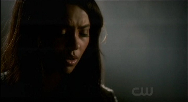 The Vampire Diaries 3x07 Bonnie starts the spell